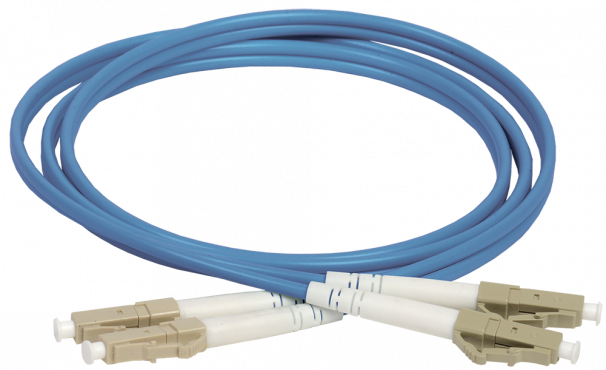 ITK Оптический шнур (патч-корд), MM, 50/125 (OM4), LC/UPC-LC/UPC,(Duplex),3м, кабель витая пара