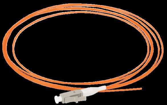 ITK Оптический шнур (патч-корд), пигтеил, (MM), 50/125 (OM2), LC/UPC, LSZH, 1,5м, кабель витая пара