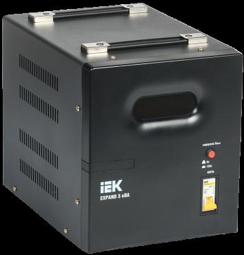 Стабилизатор напр. 1-ф. переносн. 3кВА EXPAND IEK, Стабилизаторы однофазные