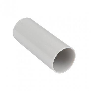 Муфта соединительная для трубы (25мм.) (50шт.) Plast EKF PROxima, Повороты, соединители, муфты