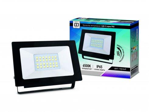 Прожектор светодиодный СДО-5-20 серии PRO 20Вт 230В 6500К 1900Лм IP65 LLT