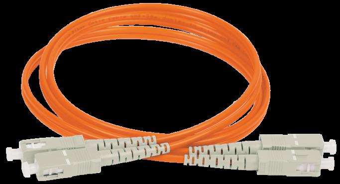 ITK Оптический шнур (патч-корд), MM, 50/125 (OM2), SC/UPC-SC/UPC,(Duplex),10м, кабель витая пара