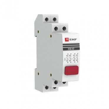 Кнопка модульная КМ-47 (красная) EKF PROxima, Дополнительные устройства модульной серии