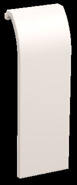 Соединитель на стык IEK боковой высотой 40, Кабель-канал и аксессуары