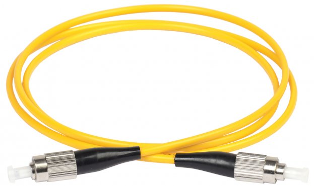 ITK Оптический шнур (патч-корд), SM, 9/125 (OS2), FC/UPC-FC/UPC,(simplex),3м, кабель витая пара