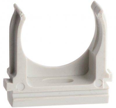 Крепеж-клипса d20мм (10шт.) Plast EKF PROxima, Крепления для труб