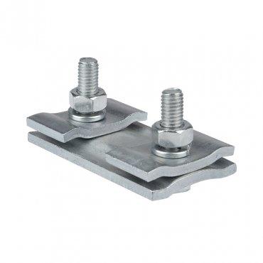 Зажим соединительный плашечный 2 болта М6 (D провода 5,5...8,6 мм) ПС-1-1 EKF PROxima, Арматура к проводу СИП