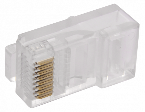 ITK Разъём RJ-45 UTP для кабеля кат.6, кабель витая пара