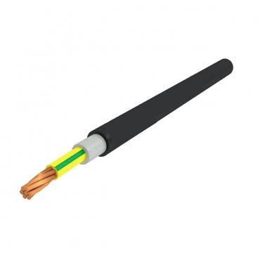 Кабель ВВГнг(А)-LSLTx 1х10 ГОСТ желто-зеленый, Кабель ВВГнг LSLTx