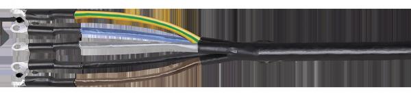 Муфта ПКВтп 5х16/25 с/н ПВХ/СПЭ изоляция 1кВ IEK, Муфты кабельные