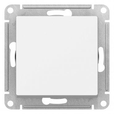 Переключатель одноклавишный AtlasDesign Schneider Electric белый, Выключатели встраиваемые