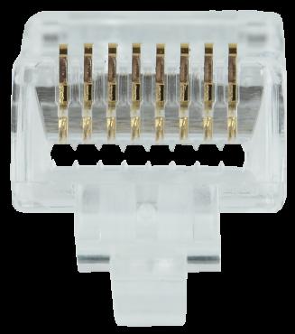 ITK Разъём RJ-45 UTP для кабеля кат.5E FPS, кабель витая пара