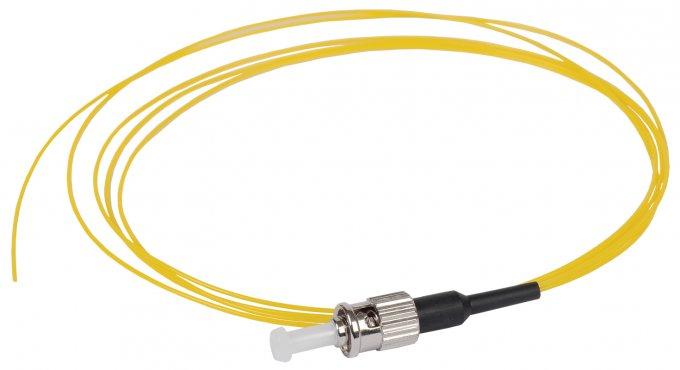 ITK Оптический шнур (патч-корд), пигтеил, (SM), 9/125 (OS2), ST/UPC, LSZH, 1,5м, кабель витая пара