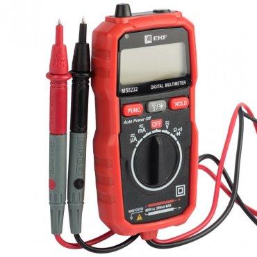 Мультиметр цифровой MS8232 EKF Expert, Мультиметры