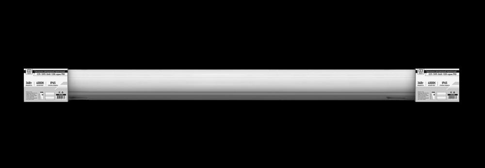 Светильник светодиодный герметичный ССП-159П 36Вт 230В 4000К 2900лм 1200мм прозрачный IP65 серии PRO LLT