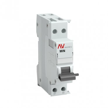 Расцепитель минимального напряжения AV-MIN EKF AVERES, Дополнительные устройства модульной серии