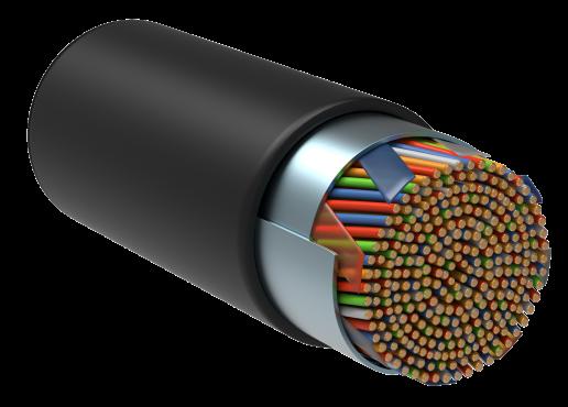 ITK Витая пара F/UTP кат.5E 10х2х24AWG LDPE черный (305м), кабель витая пара