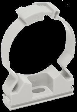 Хомутный держатель для труб 32 мм IEK, Крепления для труб