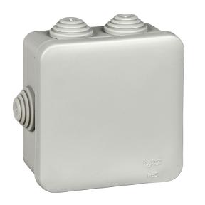 Коробка распределительная для открытой установки 85х85х40мм IP55 SE, Коробки распределительные
