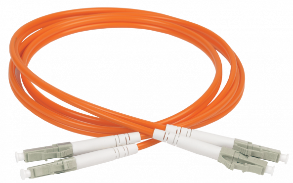 ITK Оптический шнур (патч-корд), MM, 50/125 (OM2), LC/UPC-LC/UPC,(Duplex),2м, кабель витая пара
