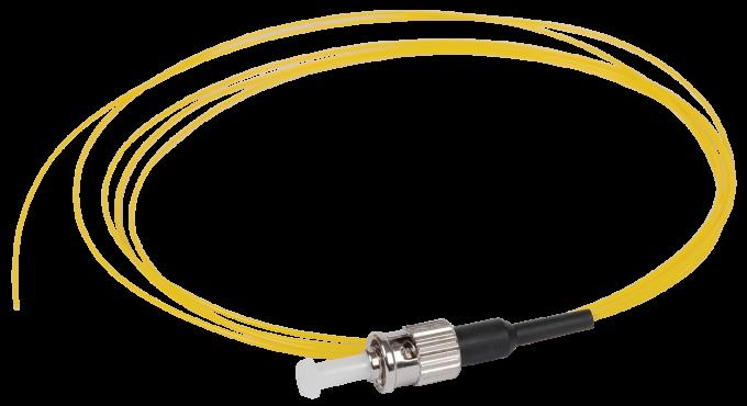ITK Оптический шнур (патч-корд), пигтеил, (SM), 9/125 (OS2), FC/UPC, LSZH, 1,5м, кабель витая пара