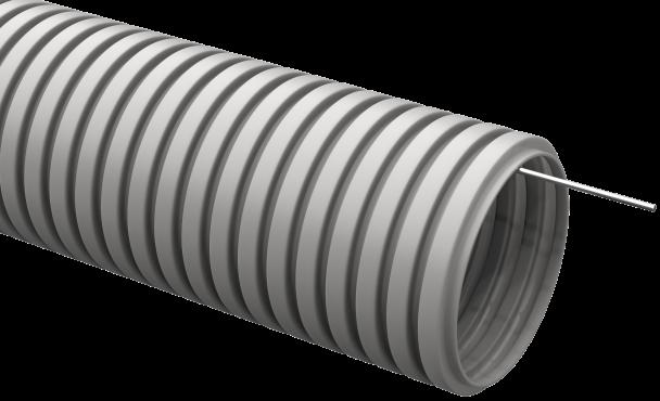 Труба IEK гофрированная ПВХ 63 с зондом, Труба гофрированная ПВХ