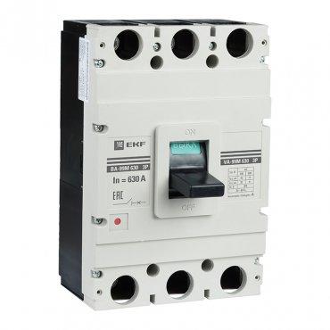 Выключатель автоматический ВА-99М 630/400А 3P 50кА EKF PROxima, Силовые автоматические выключатели